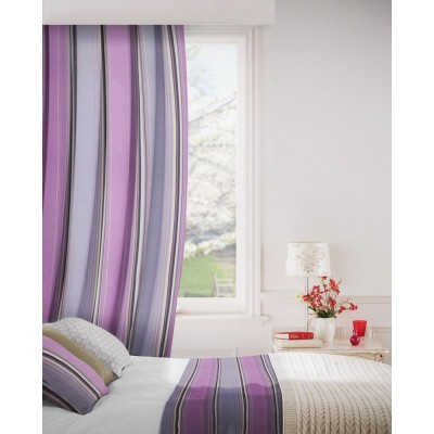 Edge 465 Raspberry Fig Fire Resistant Curtains