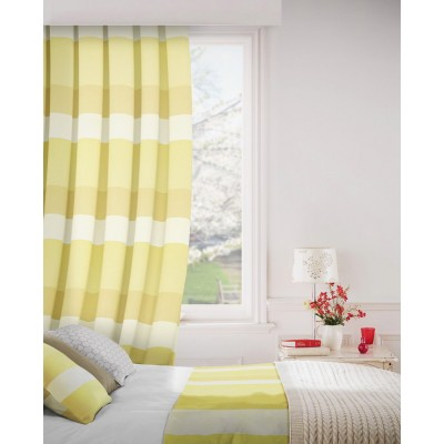 Escape 300 Gold Fire Resistant Curtains