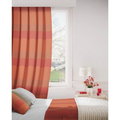 Escape 411 Spice Fire Resistant Curtains