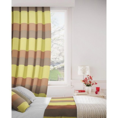 Escape 933 Copper Gold Fire Resistant Curtains
