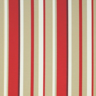 Fiesta 480 Red Beige Fire Resistant Fabric