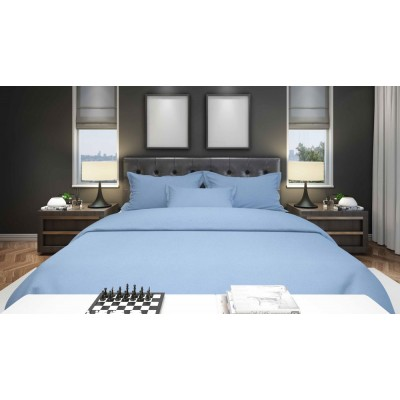 Flame Retardant Bedding BS7175 Pale Blue 19 Options