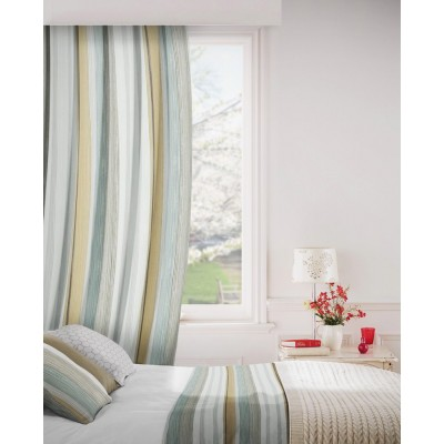 Fresco 253 Cardamom Fire Resistant Curtains
