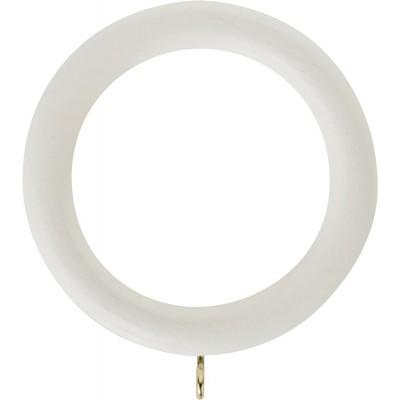 50mm Honister Wood Rings Pk4 Linen White