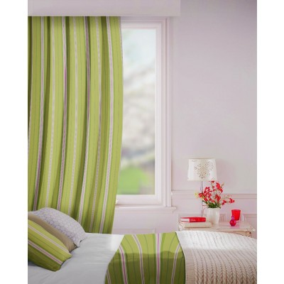 Howick in Fern Flame Retardant Curtain