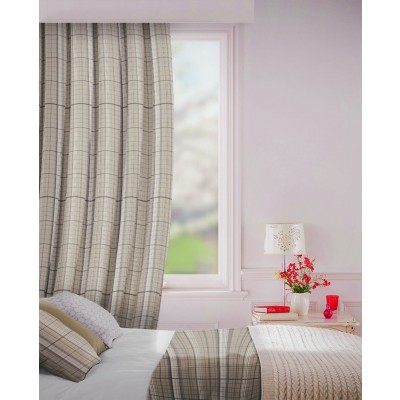 Howick in Pebble Flame Retardant Curtain