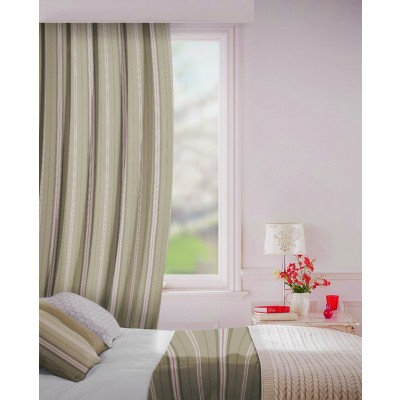 Howick in Pumice Flame Retardant Curtain