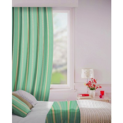 Howick in Topaz Flame Retardant Curtain