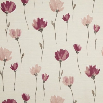 Juliet 688 Rose Linen Fire Resistant Fabric