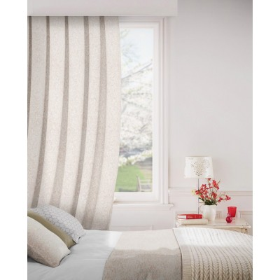 Lawrence 609 Rose Fire Resistant Curtains
