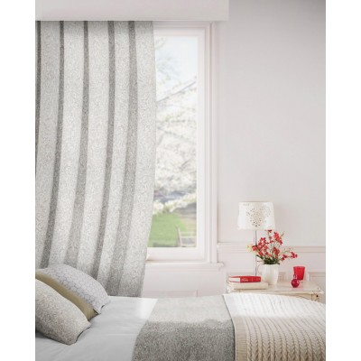 Lawrence 837 Stone Fire Resistant Curtains