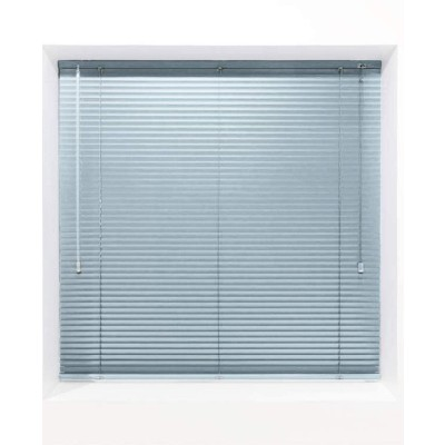Light Blue 25mm Metal Venetian Blind - Made to Measure