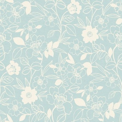 Monaco 158 Duck Egg Cream Fire Resistant Fabric