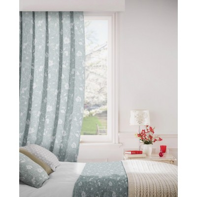 Monaco 500 Grey Fire Resistant Curtains