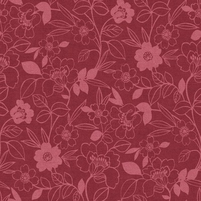 Monaco 609 Rose Fire Resistant Fabric