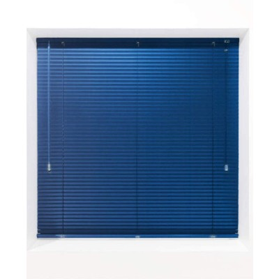 Navy 25mm Metal Venetian Blind - Made to Measure