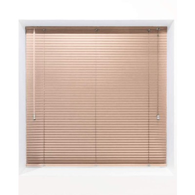 Peach 25mm Metal Venetian Blind - Made to Measure