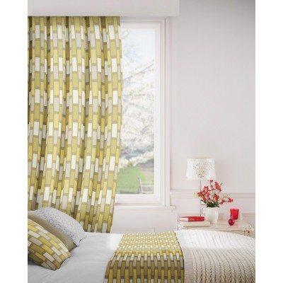 Plaza 300 Gold Fire Resistant Curtains