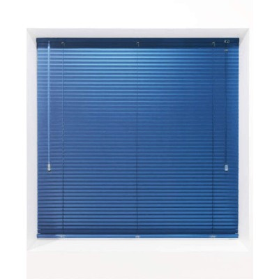 Royal Blue 25mm Metal Venetian Blind - Made to Measure