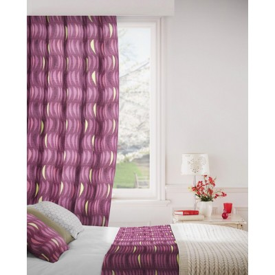 Salsa 624 Mulberry Fire Resistant Curtains