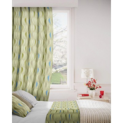 Salsa 872 Flax Fire Resistant Curtains