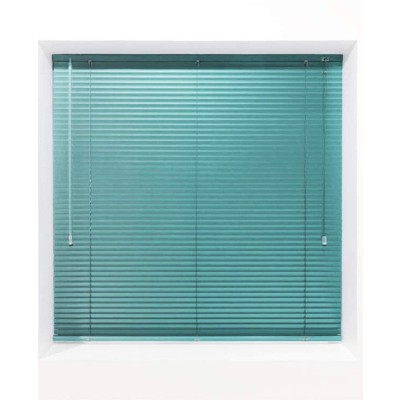 Sea Green 25mm Metal Venetian Blind - Made to Measure