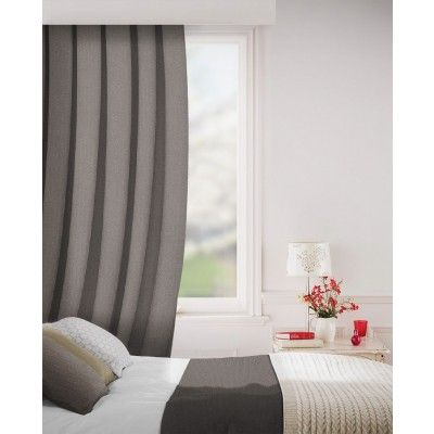 Sheffield in Cocoa Flame Retardant Curtain