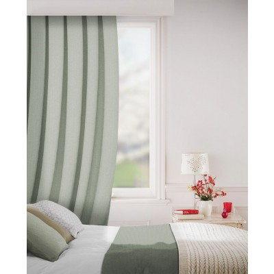 Sheffield in Mist Flame Retardant Curtain