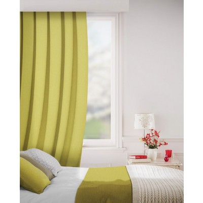 Sheffield in Mustard Flame Retardant Curtain