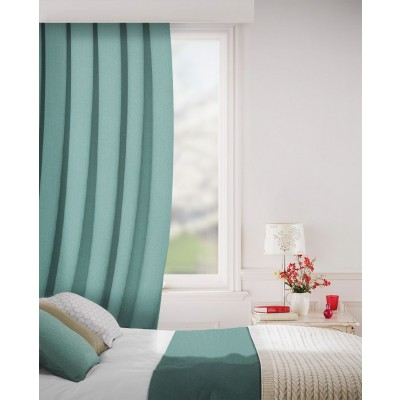 Sheffield in Topaz Flame Retardant Curtain