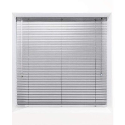 Silver 25mm Metal Venetian Blind - Made to Measure