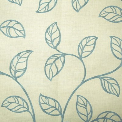Swing 853 Cream Duck Egg Fire Resistant Fabric