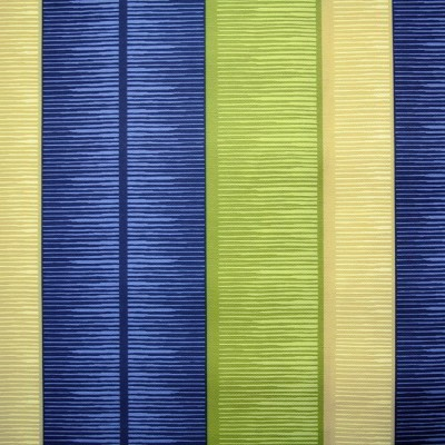 Tango Stripe 120 Blue Green Fire Resistant Curtains