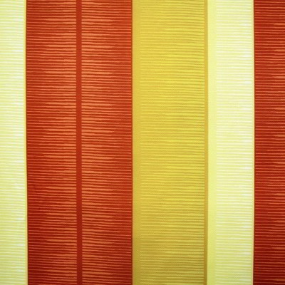 Tango Stripe 348 Gold Henna Fire Resistant Curtains