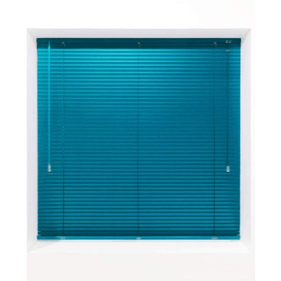 Teal 25mm Metal Venetian Blind - Made to Measure