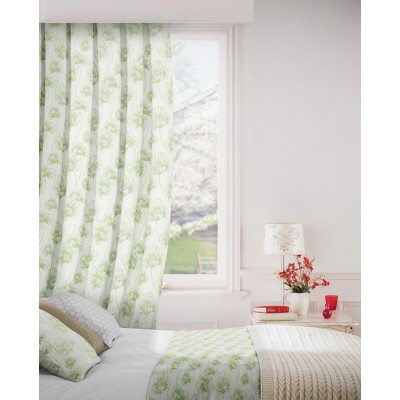 Tiffany 205 Sage Green Fire Resistant Curtains