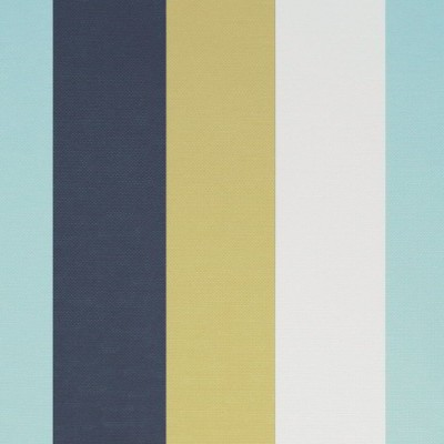 Verano 101 Blue White Fire Resistant Fabric