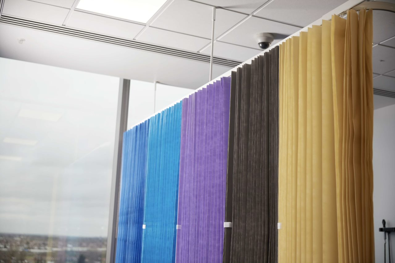 Disposable Cubicle Curtains Nhs Certified Direct Fabrics