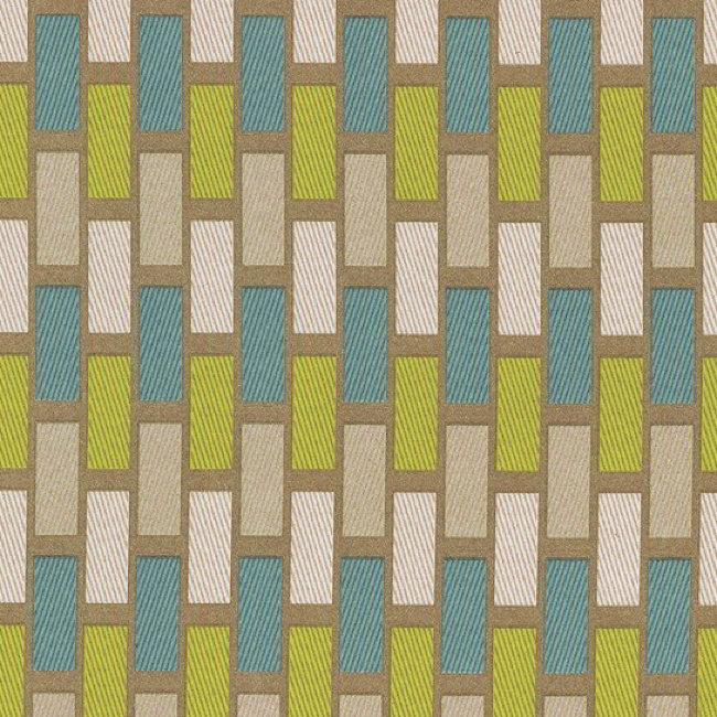 Plaza 289 Teal Latte Curtains
