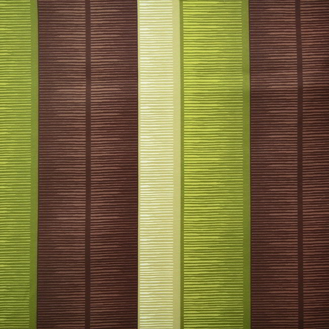 Tango Stripe 273 Lime Brown Fire Resistant Curtains Direct Fabrics