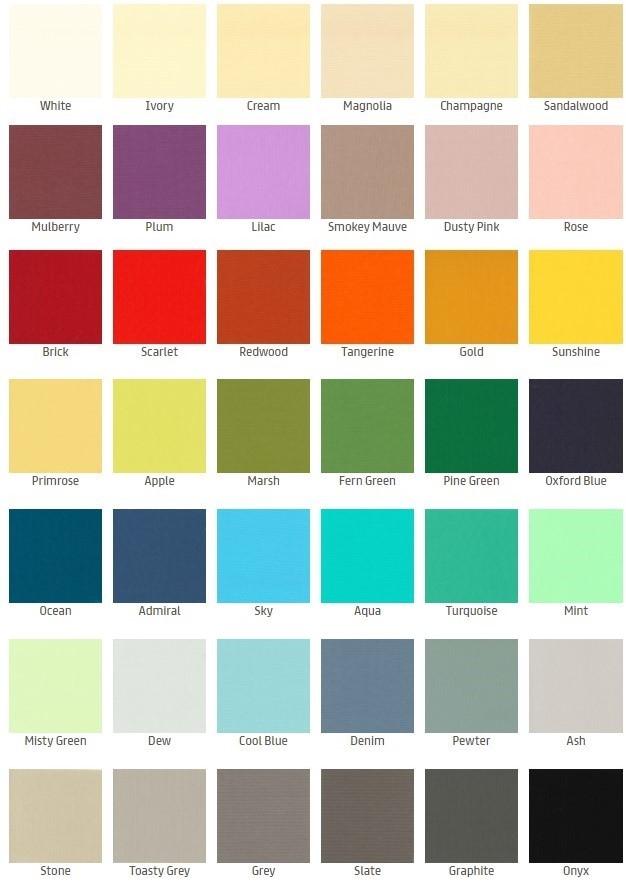 50 Colours