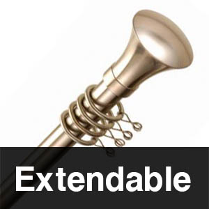 Extendable Curtain Poles