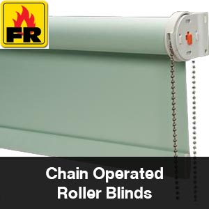 Chain operated roller blind