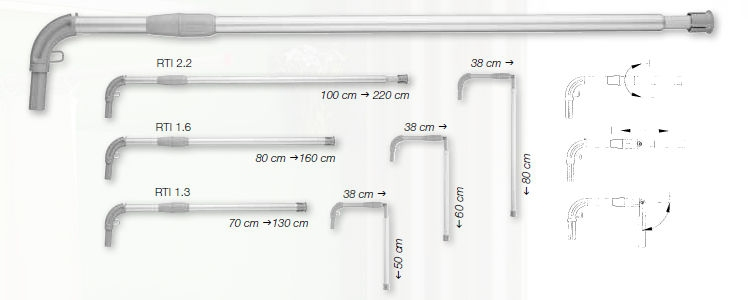 Sizing Guide for Telescopic Hospital Rails