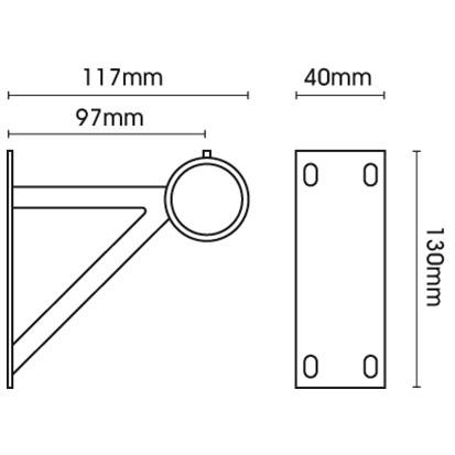 Specification of Heavy Duty Wall Bracket