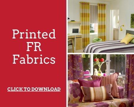 Printed Flame Retardant Fabrics