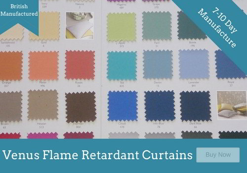 Flame Retardant Curtains BS5867