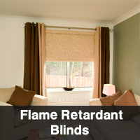 Flame Retardant BLinds