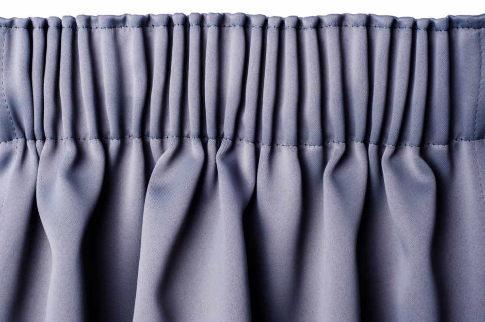 Pencil Pleat curtain heading option