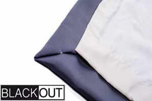 Blackout lining option for stage curtain